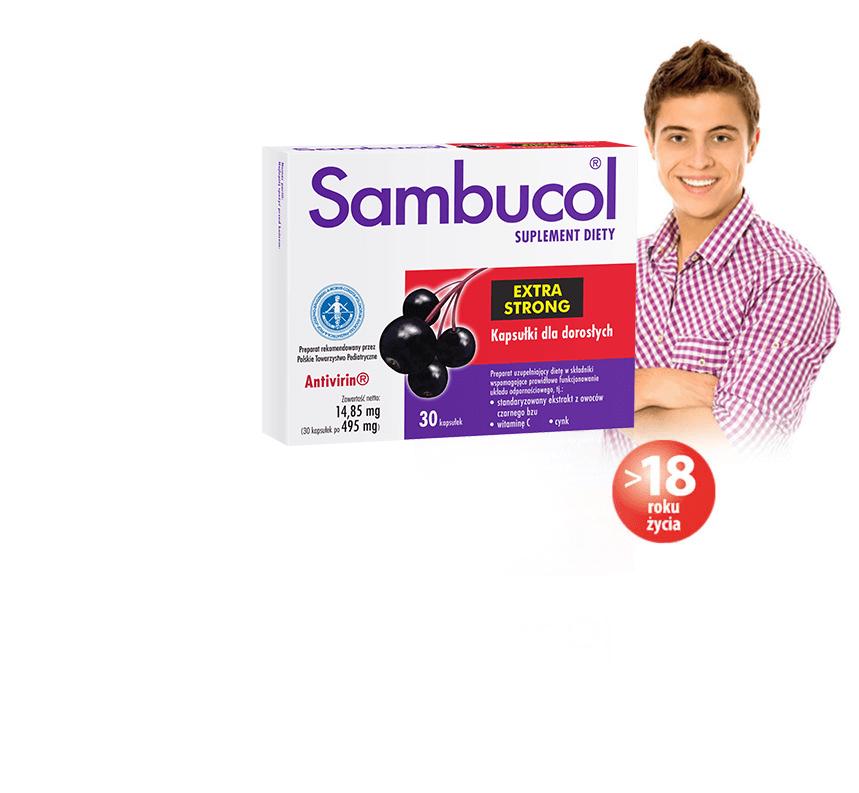 Sambucol Extra Strong kapsułki